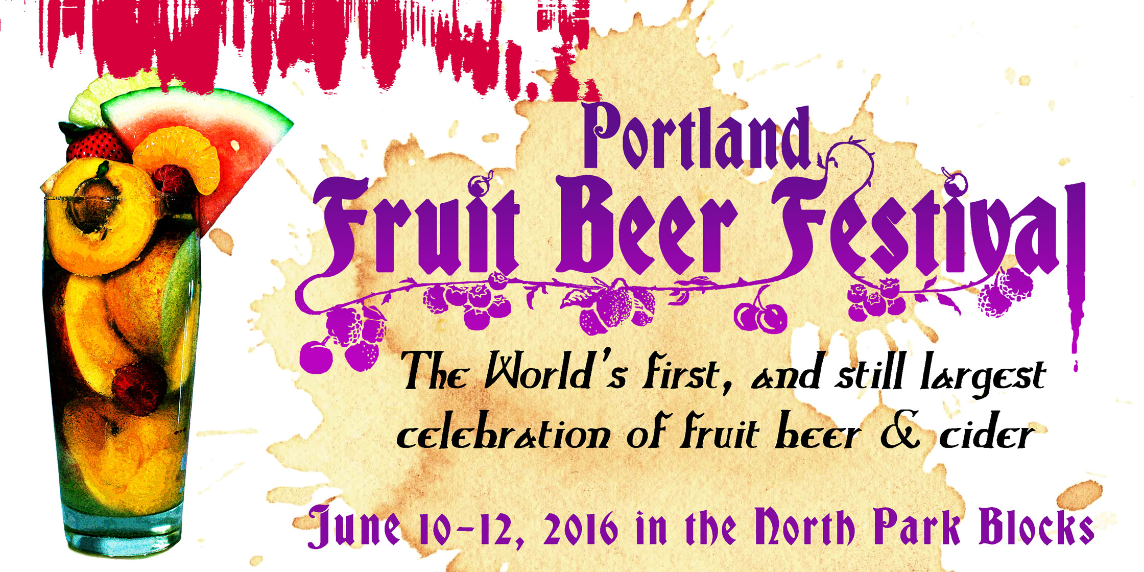 Portland Fruit Beer Festival